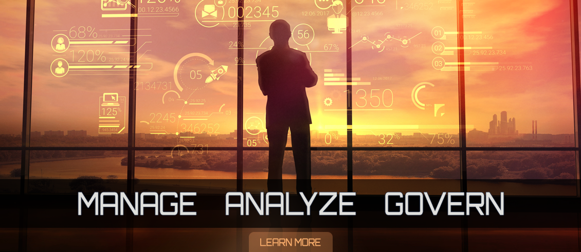 manage analyze govern